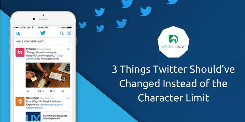 3 Things Twitter Should've Changed Instead of the Character Limit